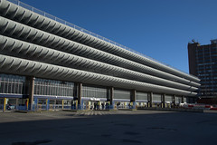 Length of Preston Bus Station (Tony Worrall) Tags: prestonbusstation brutal architecture building urban preston lancs lancashire city welovethenorth nw northwest north update place location uk england visit area attraction open stream tour country item greatbritain britain english british gb capture buy stock sell sale outside outdoors caught photo shoot shot picture captured ilobsterit instragram photosofpreston concrete ribs design lines shapes lcc architecturephotography