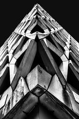 London building (spencerrushton) Tags: spencerrushton spencer rushton 5dmkiii canon5dmkiii 5dmk3 1635mm 16mm canon canonlens canonl london londonuk londoncity lightroom light londonnight l abstract architecture building contrast concreat uk uklondon city cityoflondon londonphotowalk londonstreet
