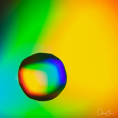Water, color and light (calmingfocus) Tags: spectrum color light water refraction macro
