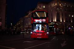 London (emmanuelbrossier.com) Tags: londres london united kingdom unitedkingdom royaumeuni uk england angleterre city ville travel voyage neverstopexploring night citylight nightphotography nuit street streetphotography bus red rouge