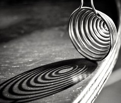 SHADOW SPIRAL (lukilutvia27) Tags: blackandwhite details canon shadow macro gettyimages