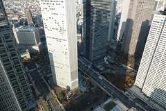 Nishi Shinjuku, from Metropolitan Government Building, Shinjuku Tokyo, Japan