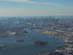 Entire Manhattan Island From Above; New York, New York (hogophotoNY) Tags: newyorkstate newyork us usa flickrexplore explore hogo hogophoto buildings manhattanislandfromabove manhattanisland manhattan