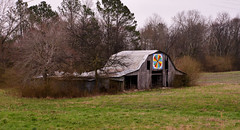 Pennsylvania Dutch Art Adorned Barn (BKHagar *Kim*) Tags: bkhagar barn rural country southern south sign art artwork pennsylvaniadutch hex hexsign alabama al rogersville