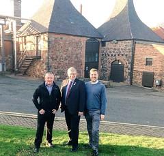 Visiting Belhaven Brewery in Dunbar