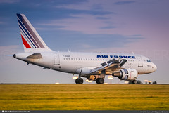 [CDG.2013] #Air.France #AF #Airbus #A318 #F-GUGD #awp (CHRISTELER / AeroWorldpictures Team) Tags: airfrance af afr france landing reverse engines cfm56 sunset plane aircraft airplane planespotting airbus a318 a318100 cn2081 fgugd dauah hamburg germany spotting paris roissy cdg lfpg spotteur christeler aeroworldpictures awp team 2012 avgeek avion aviation photography nikon d300s raw nef nikkor 70300vr lightroom chr flaps