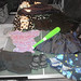 20180526 - yardsale haul - clothes and foam bat - 24081459
