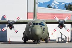 Hercules C.3A (C-130H-30) C-FNUM (Josh Kaiser) Tags: c130 cfnum cascadeaerospace herculesc3a raf rcaf xv214 c130k c130h c130h30