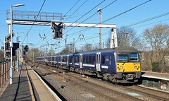 360106. Abellio Greater Anglia EMU, Ipswich, 5th. March 2019. (Crewcastrian) Tags: 360106 railways trains ipswich emu abellio greateranglia transport class360 desiro