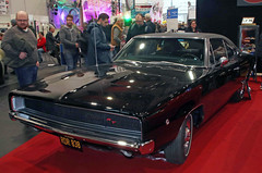 Bullit Charger (Schwanzus_Longus) Tags: bremen classic motorshow german germany old vintage car vehicle us usa america american muscle musclecar dodge charger bullit