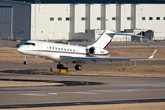 NetJets Bombardier Global 5000 (DPhelps) Tags: kdal dal dallaslovefield dallas texas airport airplane plane aircraft jet business private airliner aviation runway parking garage c spotting n112qs bombardier global 5000 netjets express