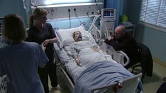EastEnders' Abi Branning on ventilator (ambubag) Tags: intubation intubated ventilator ventilated breathingtube breathing tube girl blonde cute secured protected