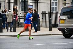 London 2018 – Runner (Michiel2005) Tags: runner whitehall jogger rennen england engeland grootbrittannië greatbritain britain uk vk unitedkingdom verenigdkoninkrijk london londen man