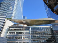 Neiman Marcus across from The Vessel Sculpture 4146 (Brechtbug) Tags: 2019 neiman marcus across from the vessel sculpture hudson yards tower near 34th street midtown manhattan new york city nyc 03172019 west side construction center cityscape architecture urban landscape scape view cityview shadow silhouette december close up skyline skyscraper railroad rail yard train amtrak tracks below grown stair stairs buildings above staircase dingus nypd mini squad cars tiny neimanmarcus department store