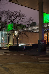 Royal-National-Theatre-South-Bank-London-131-E-W-0068 (laurencemackman) Tags: royalnationaltheatre london architecture concrete light brutalism brutalist denyslasdun nationaltheatre southbank riverthames night longexposure nikond60 ニコン d60 イギリス ロンドン 建築 建物 建築物 現代の 博物館 ギャラリー コンクリート ラスダン デニス 劇場 ウスバンク