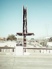 San Jose, California (bior) Tags: pentax645d sanjose street california billboard smc pentaxa 645 70mm f28 smcpentaxa64570mmf28 overpass