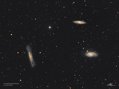 LeoTriplet_LRGB_26-2-2019 (MarkLB57) Tags: m65 m66 ngc3628 galaxy astronomy astrophotography azeq6gt zwoasi1600mmcool zwoefwelectricfilterwheel lrgb leo leotriplet meade6000115mmrefractor marklb57