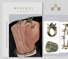 MINIMAL - Raven Rings (MINIMAL Store) Tags: minimal tmd event rings belleza jake signature rigg sl slevent jewelry accessories jewellery