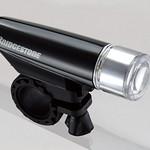 自転車バッテリーヘッドランプの写真