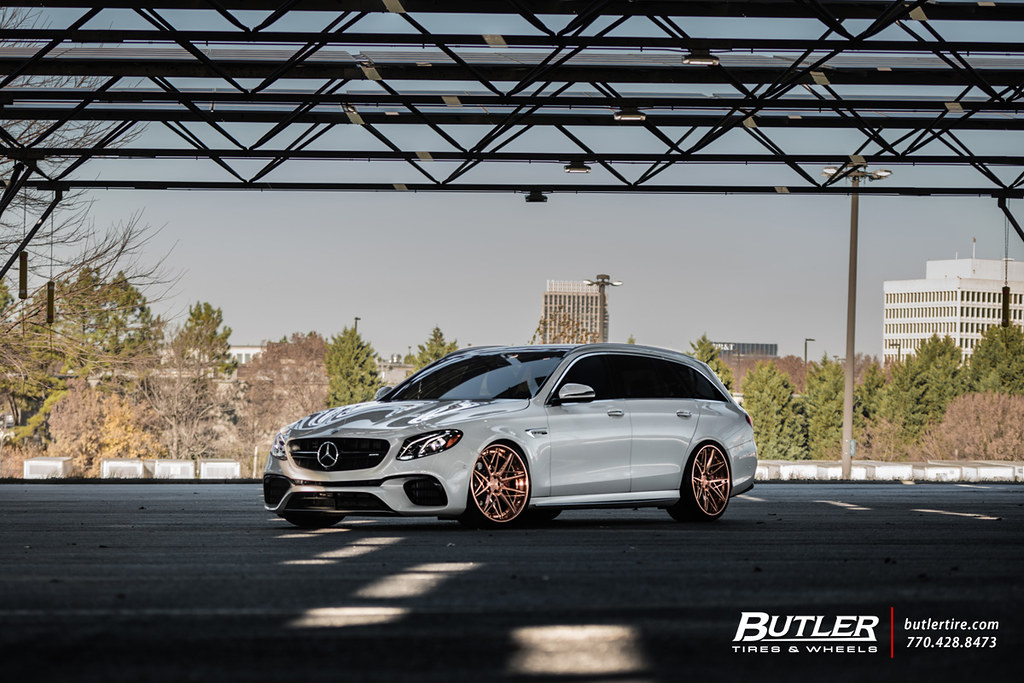 Mercedes-Benz E63S AMG Wagon - F538 Brushed Polished Copper