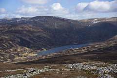 Loch Callater (steve_whitmarsh) Tags: aberdeenshire scotland scottishhighlands highlands mountain hills water loch lochcallater glen cairngorms topic