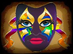 Carnival-mask (SØS: Thank you for all faves + visits) Tags: carnival color colorful digitalartwork art kunstnerisk manipulation solveigøsterøschrøder artistic eyes mask red 100views