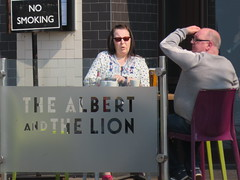 The Albert and the Lion, Blackpool (deltrems) Tags: blackpool fylde coast lancashire women men people pub bar inn tavern hotel hostelry house restaurant thealbertandthelion albert lion