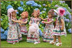 Kindergartenkinder ... der Sommer war schön ..... (Kindergartenkinder 2018) Tags: sommer blumen hortensien kindergartenkinder annemoni kindra milina sanrike tivi