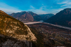 Amaro (Photo-Sorko) Tags: valcanale kanaltal italy italien drone drohne mountains berge water wasser river fluss landscape landschaft natur nature amaro
