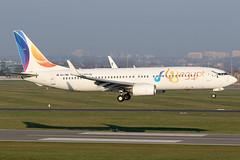 SU-TMG 13042019 (Tristar1011) Tags: ebbr bru brusselsairport boeing flyegypt 737800 b738 sutmg