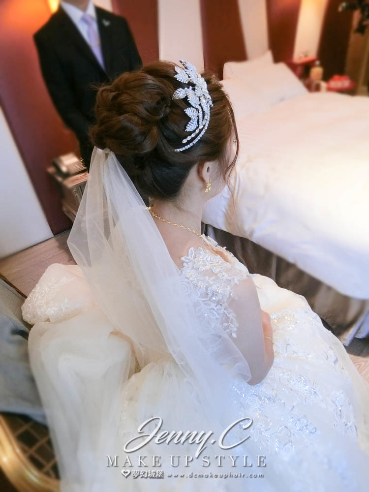 【新秘蓁妮】bride宛亭 訂結婚造型 /市政路寶麗金