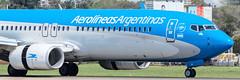 LV-GUB (M.R. Aviation Photography) Tags: boeing 7378shwl lvgub aerolineas argentinas aviation aviacion airplane plane aircraft avion sony a7 a6 z7 d850 d750 d650 d7200 photo photography foto fotografia pic picture canon eos pentax sigma nikon b737 b747 b777 b787 a320 a330 a340 a380