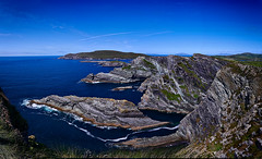 Kerry Cliffs (lfeng1014) Tags: kerrycliffs skelligring cliffs rocks panorama northatlanticocean wildatlanticway portmagee cokerry ireland republicofireland coast landscape travel canon5dmarkiii ef1635mmf28liiusm lifeng