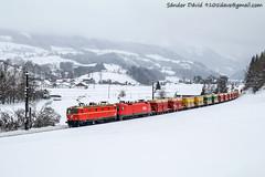 2019.01.12 | 1144 040 + 1016 006-9 | Edlbach (Davee91) Tags: edlbach 1144 040 güterzug austria freight special taurus selzthal pyhrbahn