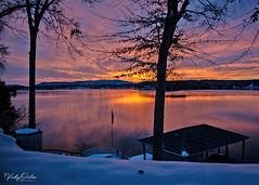🇺🇲 Missing waking up to the amazing sunrise's at Smith Mountain Lake, Virginia. Take me back. (vickyouten) Tags: smithmountainlake virginia usa sunrise amazingsunrise va