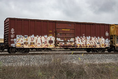 (o texano) Tags: houston texas graffiti trains freights bench benching ghoul ghouls hindue gtb a2m adikts sws wh d30