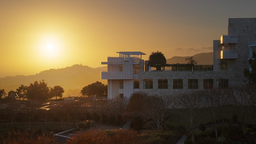 Getty Center Sunset