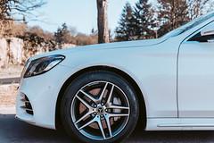 Mercedes-Benz (FOXTROT|ROMEO) Tags: sclass sklasse mercedes mercedesbenz mb car auto benz felge rim wheel star stern reifen tire white german 2019 s500 amg
