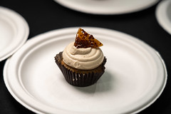 "More – Patty RothmanBacon Maple mini cupcakes – maple bacon cake frosted with brown sugar maple buttercream topped with house made bacon brittle – Yum!! • <a style=""font-size:0.8em;"" href=""http://www.flickr.com/photos/124225217@N03/46840687834/"" target=""_blank"">View on Flickr</a>"