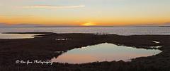Mud Bay at High Tide, Surrey BC (PhotoDG) Tags: mudbay sun sunset cloud color landscape surrey metrovancouver tide panaroma ef70200mmf4lisusm reflection