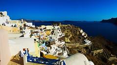 20160527 Greece Santorini (Michelle法法) Tags: 歐洲 希臘 聖托里尼 旅遊 夕陽 騎毛驢 海洋 europe santorini grecce donkey ocean sunset
