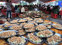 Cashew nuts with vegetable (MelindaChan ^..^) Tags: jiangmen china 江門 chanmelmel mel melinda melindachan food eat meal dish plate cashew nut vegetable 石板沙 life chinese village