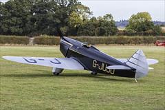 Chilton DW.1A - 01 (NickJ 1972) Tags: shuttleworth collection oldwarden race day airshow 2018 aviation chilton dw1 gjuju replica