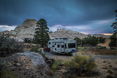 Camping For Free On Public Land (Brad Prudhon) Tags: escalante grandstaircaseesclante october rocky specular bigred campground campsite mountains scenic 2018 utah