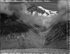 The Aletsch Horn (Bastiank80) Tags: largeformat large polaroid polaroid55 horn aletsch bastiank