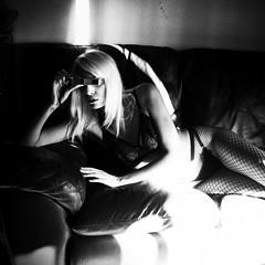 (i m lost) Tags: boudoir rolleiflex tessar 3200iso hp5 push blond 007 natural light argentique film minolta16