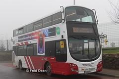 Bus Eireann VWD28 (151G2259). (Fred Dean Jnr) Tags: buseireann volvo b5tl wright eclipse gemini3 vwd28 151g2259 applecampus cork february2019 buseireannroute202 wrightbus fog