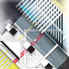 DX.020 (Marks Meadow) Tags: abstract abstractart geometric geometricart design abstractdesign neogeo color pattern illustrator vector vectorart hardedge vectordesign interior architecture architectural blackwhite surreal space perspective colour asymmetry structure postmodern element cubism technology technical diagram composition aesthetic constructivism destijl neoplasticism decorative decoration layout contemporary symmetrical mckie isometric