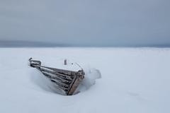 In the heart of the snowstorm (alexander.alechits) Tags: sakhalin sakhalinisland seaofokhotsk snow snowstorm ©alexanderalechits boat canon сахалин оха москальво снег буран