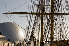 Masts and rigging (.Stephen..Brennan.) Tags: boats da70 fremantle pentax pentaxk3 perth westernaustralia australia au leeuwin maritimemuseum 70mm